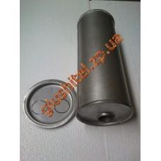 Глушитель универсальный круглый D.743/50 (Длинна 350мм, диаметр корпуса 150мм, диаметр входа 50мм)