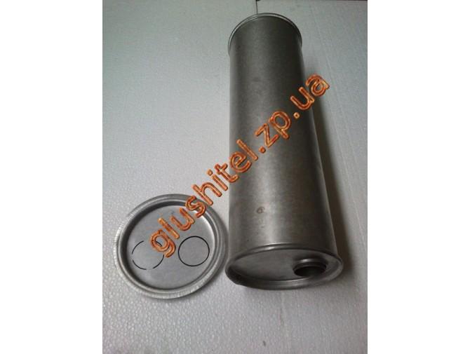 Глушитель универсальный круглый D.746/50 (Длинна 500мм, диаметр корпуса 150мм, диаметр входа 50мм)