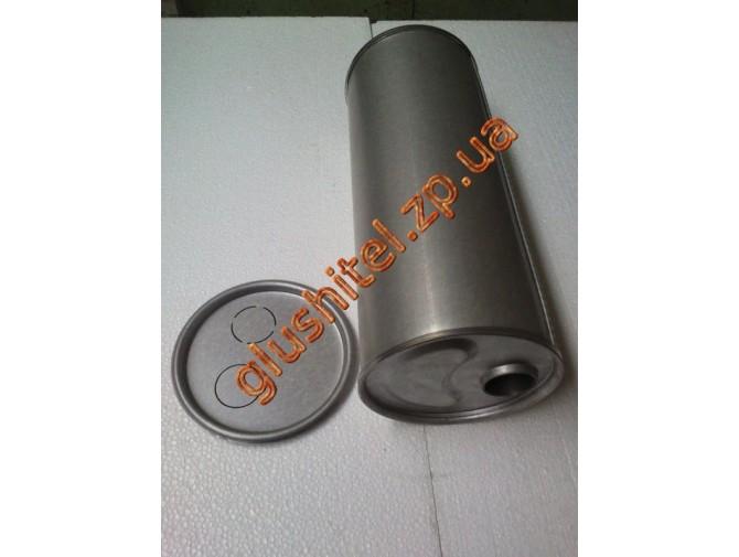 Глушитель универсальный круглый D.755/45 (Длинна 460мм, диаметр корпуса 180мм, диаметр входа 45мм)