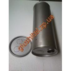 Глушитель универсальный круглый D.756/50 (Длинна 500мм, диаметр корпуса 180мм, диаметр входа 50мм)