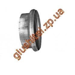Рем. вставка - завальцовка диам.труби 100мм., длина 40мм. DIN78200 (80.19) Polmostrow алюминизированный