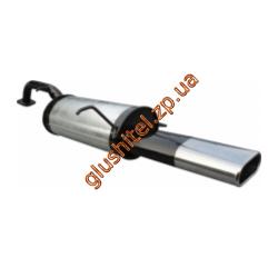 Глушитель прямоточный Шевроле Лачетти (Chevrolet Lacetti) универсал 1.4-1.8 с 2003 -  Unimix