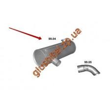 Глушитель Катерпиллар (Caterpillar) 325LN (99.04) Polmostrow алюминизированный
