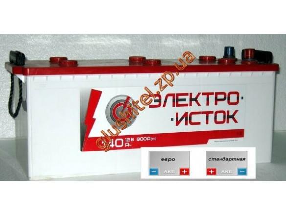 Автомобильный аккумулятор Электроисток 6СТ-190