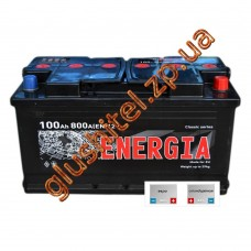 Автомобильный аккумулятор Энергия 6СТ-100