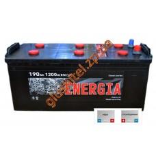 Автомобильный аккумулятор Энергия 6СТ-190