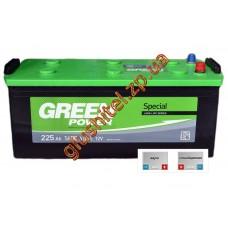 Автомобильный аккумулятор GreenPower 6СТ-225