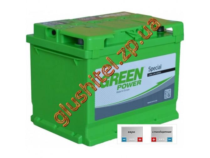 Автомобильный аккумулятор GreenPower 6СТ-66
