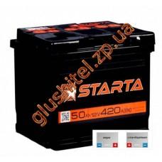Автомобильный аккумулятор Starta 6СТ-50