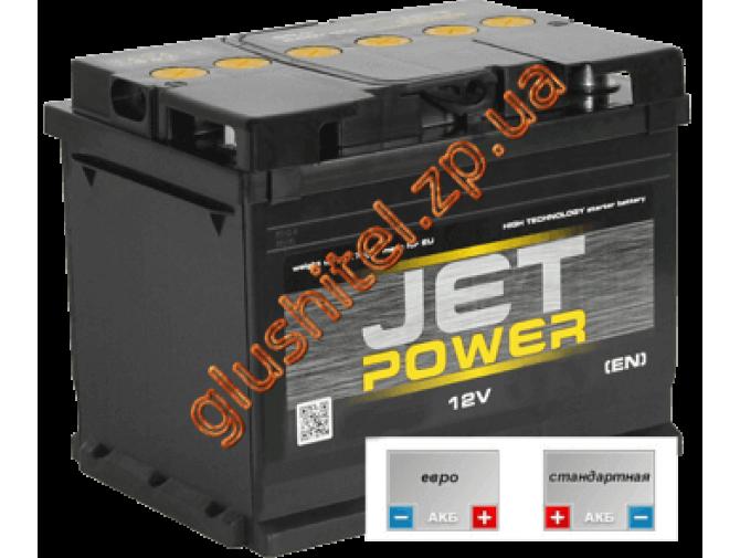 Автомобильный аккумулятор Jetpower 6СТ-100