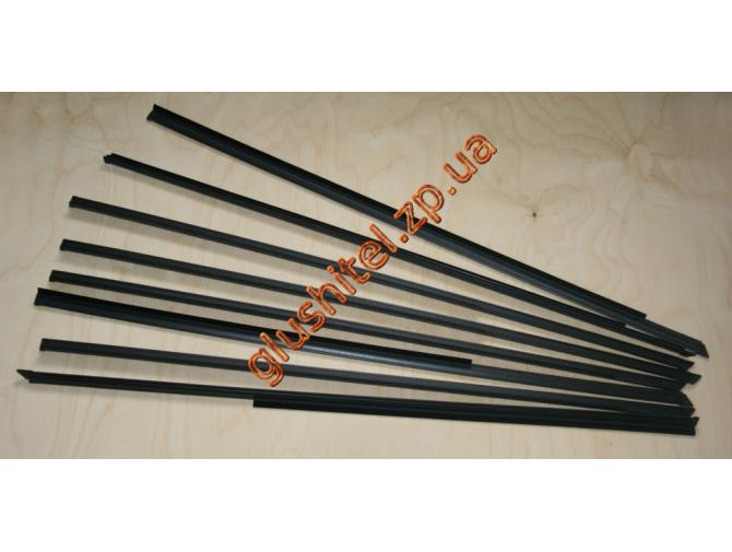 Бархотки (комплект уплотнителей стекол) ВАЗ 2105-2107
