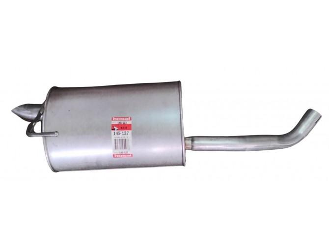 Глушитель Ниссан Ноут (Nissan Note) 06- (145-127) Bosal 15.21 алюминизированный