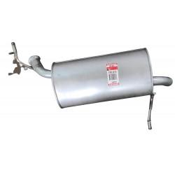 Глушитель задний Пежо 407 (Peugeot 407) 1.8 04-07 (190-031) Bosal 19.161 алюминизированный