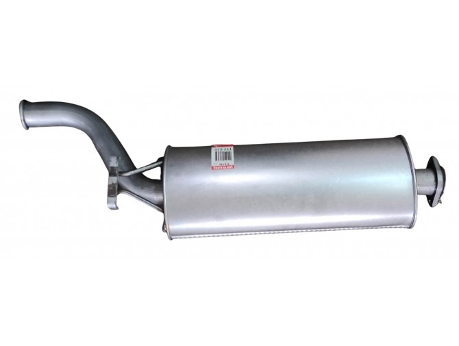 Глушитель Сааб 9000 (Saab 9000) Turbo-16V 2.0i 90-93HB (215-211) Bosal (48.01) алюминизированный
