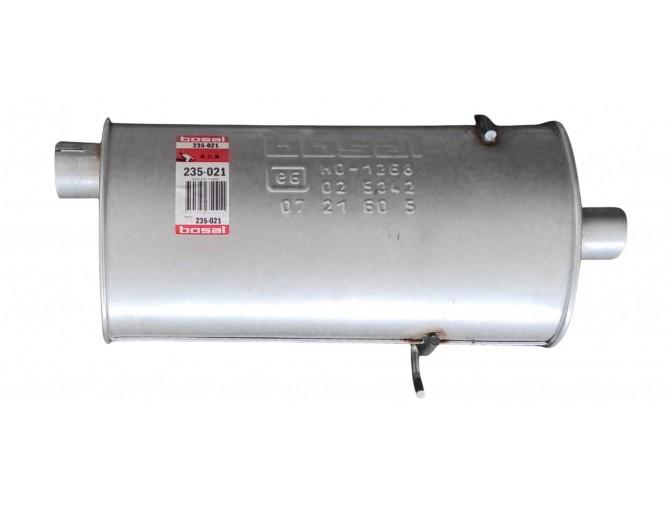 Глушитель задний Вольво 740 (Volvo 740) 87-93 (235-021) bosal алминизированный