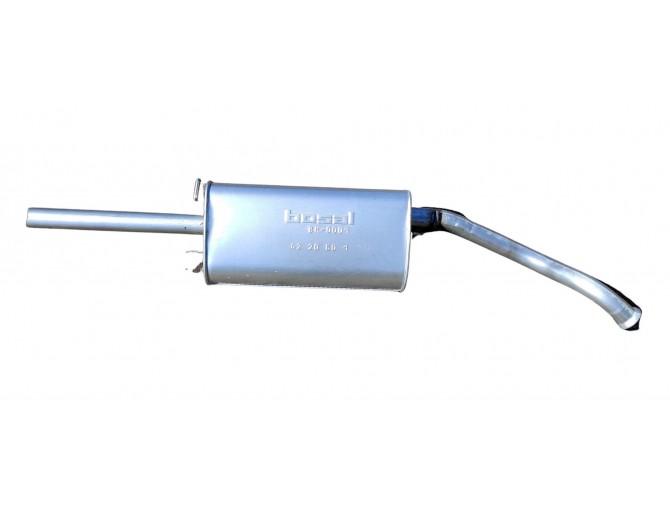 Глушитель ДЭУ Ланос - Сенс (Daewoo Lanos - Sens) (TF69Y0-1201009-20) под хомут 279-661 Bosal 05.09 алюминизированный