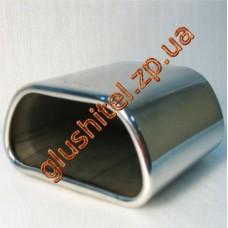 Насадка на глушитель (плоская) CarEx YFX-0168