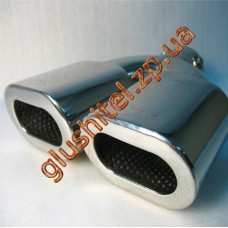 Насадка на глушитель (двойная) CarEx YFX-0296