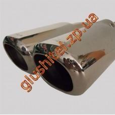 Насадка на глушитель (двойная) CarEx YFX-0339