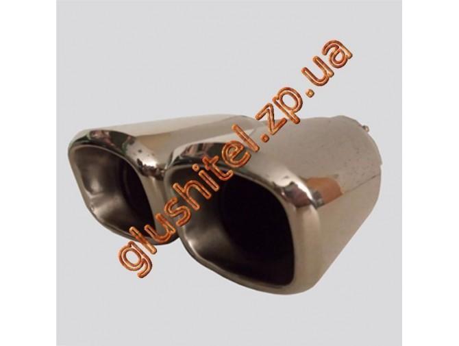 Насадка на глушитель (двойная) CarEx YFX-0345