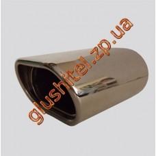 Насадка на глушитель (плоская) CarEx YFX-0395