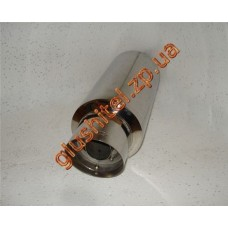 Прямоточный глушитель CarEx YFX-0653