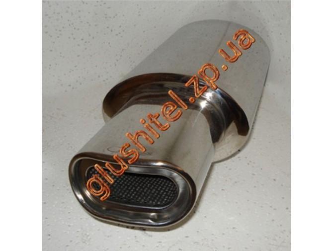 Прямоточный глушитель (плоская насадка) CarEx YFX-0674