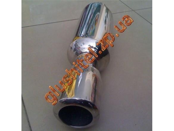 Прямоточный глушитель CarEx YFX-0683
