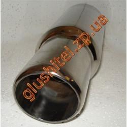 Прямоточный глушитель (круглая насадка) CarEx YFX-0707