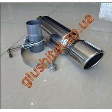Прямоточный глушитель CarEx YFX-0723