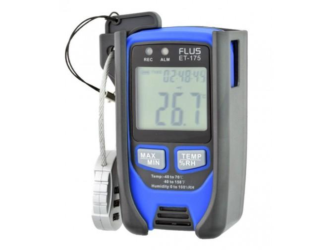Даталоггер регистратор температуры влажности Flus ET-175