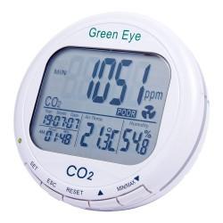 Детектор-регистратор углекислого газа + термогигрометр + реле AZ-7798
