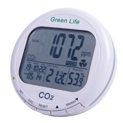 Детектор углекислого газа + термогигрометр  AZ-7787