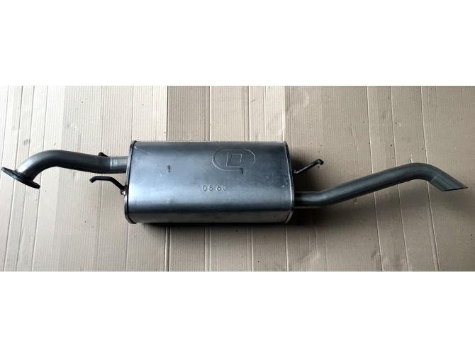 Глушитель Шевроле Авео (Chevrolet Aveo) (05.60) седан DMG алюминизированный