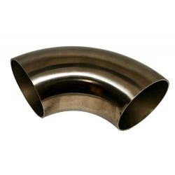 Ремонтное колено - 60 мм. 90 градусов (нержавеющая сталь)