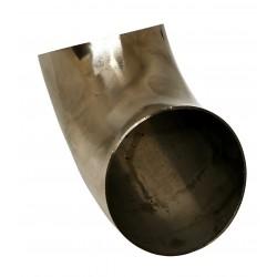 Ремонтное колено - 70 мм. 90 градусов (нержавеющая сталь)