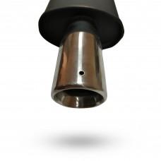 Прямоточный глушитель YFX-0313 (V002) алюминизированный/нержавейка