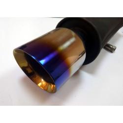 Прямоточный глушитель V028 алюминизированный/нержавейка