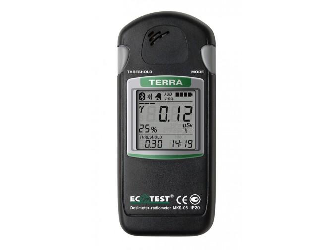 Дозиметр-радиометр МКС-05 ТЕРРА с блютус (Bluetooth)