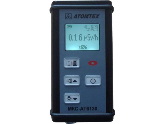 Дозиметр-радиометр МКС-АТ6130 с блутус