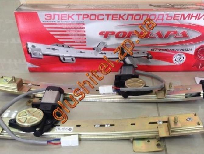 Стеклоподъемники электрические ВАЗ 2101, ВАЗ 2106 ФОРВАРД Форвард (комплект, рейка пластик)
