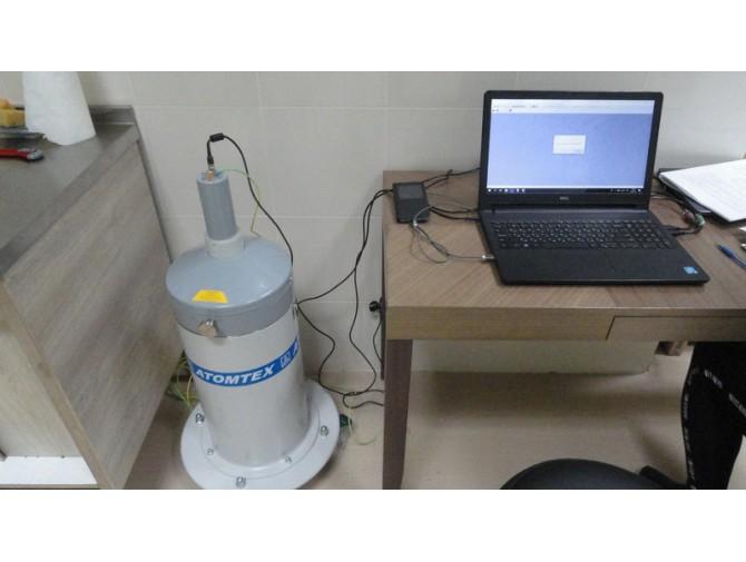 Гамма спектрометр, Бета спектрометр с методиками для Продуктов, Стройматериалов