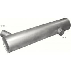 Глушитель МАН (MAN) (68.32) Polmostrow алюминизированный