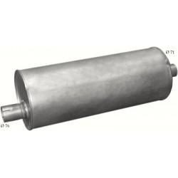 Глушитель Мерседес 1938I (Mercedes 1938I) din 50355 (Размеры: 281mm; L = 745mm) (69.56) Polmostrow алюминизированный