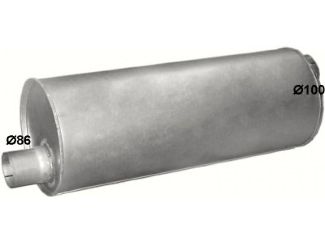 Глушитель Мерседес СК (Mercedes Sk) 17-35 ton (69.78) Polmostrow алюминизированный
