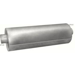 Глушитель Сканиа Г92, П92, Р92, Т92 (SCANIA G92 P92 R92 T92) din 68305 (Размеры: 297mm; L = 900mm) (71.02) Polmostrow алюминизированный