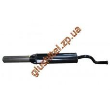 Глушитель прямоточный ВАЗ 21099 спорт нержавеющий выпуск Мелитополь ЮТАС