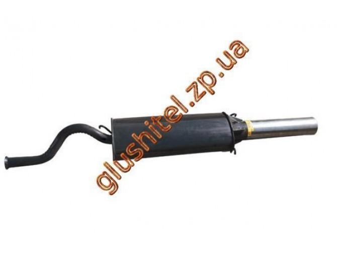 Глушитель прямоточный ВАЗ 2110 спорт нержавеющий выпуск Мелитополь ЮТАС