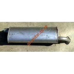 Глушитель ГАЗ 2401, 2410, 3110 (40.01) Польша Polmostrow алюминизированный