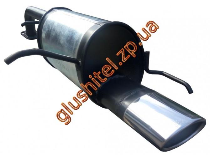 Глушитель прямоточный Шевроле Лачетти (Chevrolet Lacetti) хетчбэк Ф51 1.4-1.8 с 2003 - Unimix